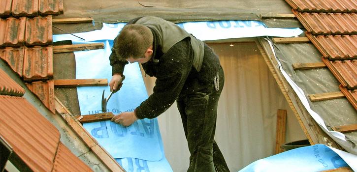 Nachträglicher Dachfenstereinbau
