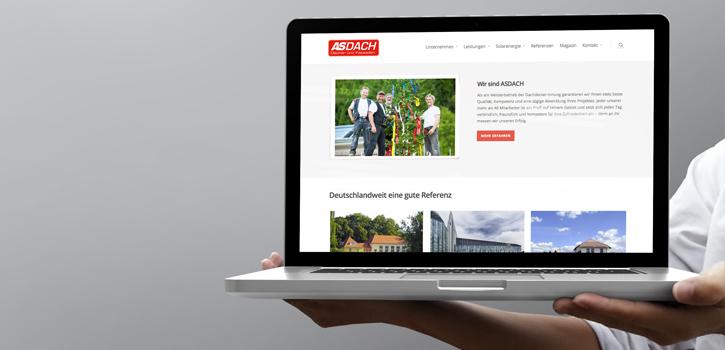 Dachdecker Bau Website