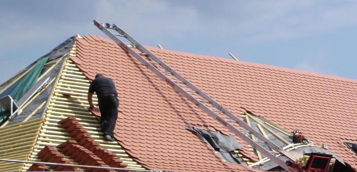 Berufsbild Dachdecker