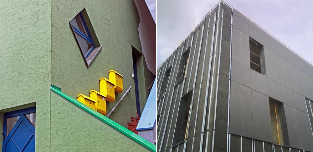 Dämmsysteme für Fassaden